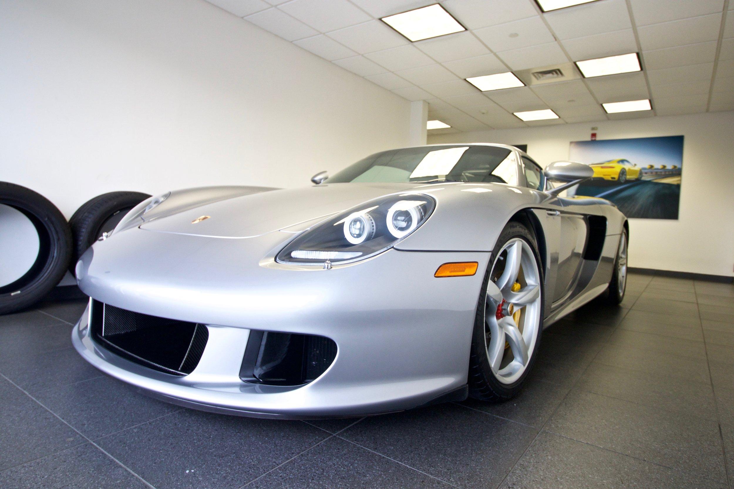 Porsche Carrera GT - Paint Protection Film - Extensive Paint Correction - CQuartz Finest Reserve