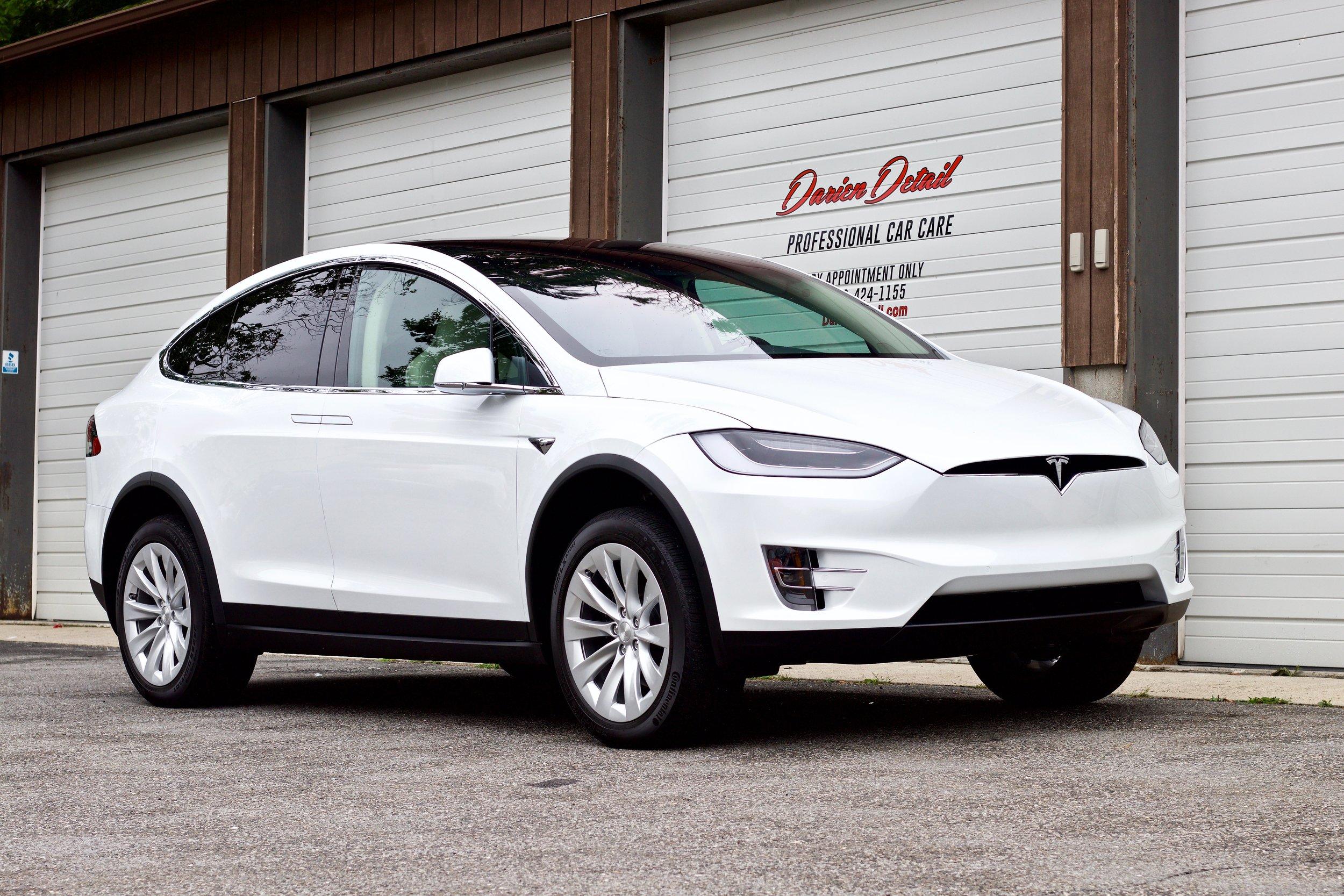 Tesla Model X - Paint Correction - Paint Protection Film