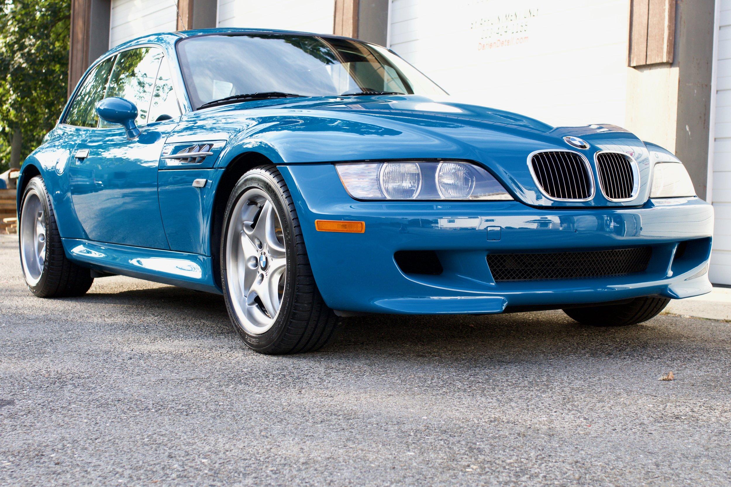 BMW M Coupe - Paint Protection Film - Paint Correction