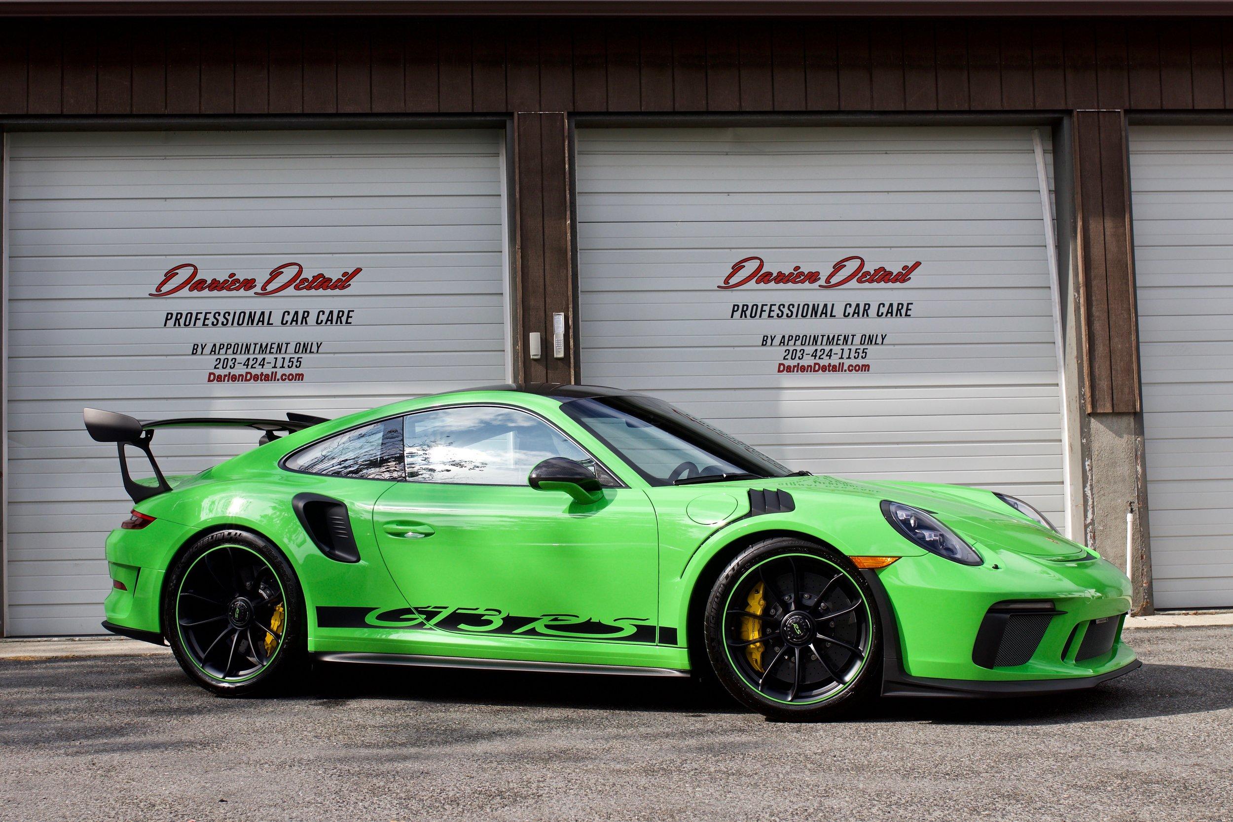 Porsche GT3 RS - Paint Protection Film - New Car Detail - CQuartz Finest Reserve
