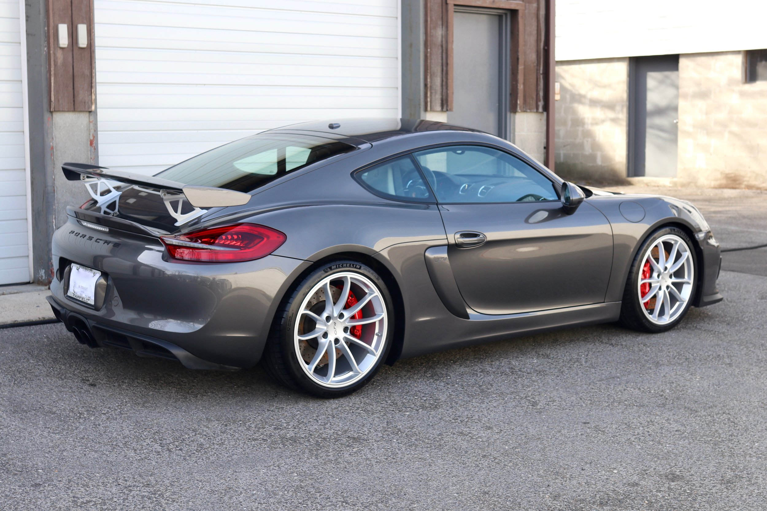 Porsche GT4 - Paint Protection Film - Paint Correction - CQuartz Finest Reserve