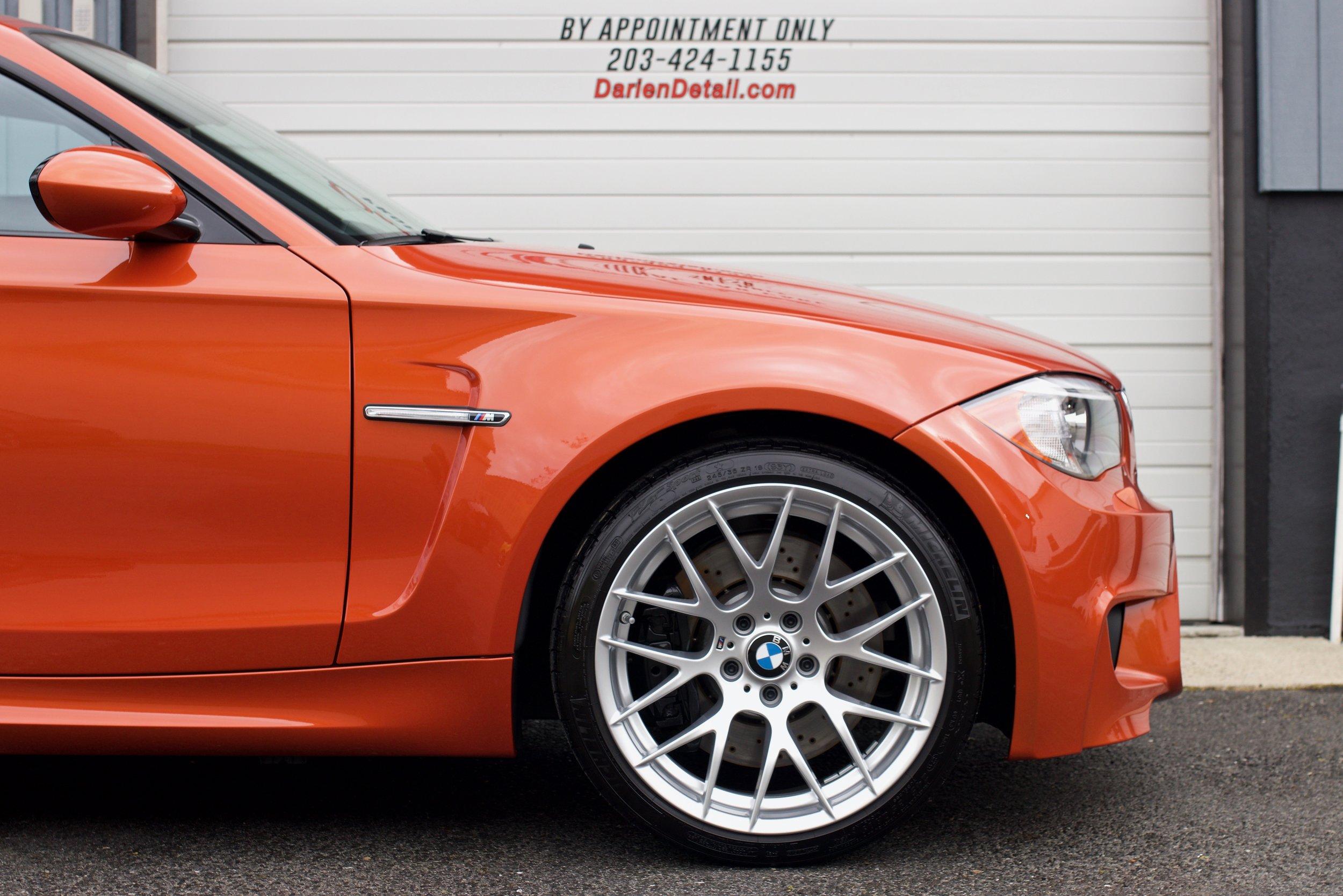 BMW 1M - Paint Protection Film - CQuartz Finest Reserve