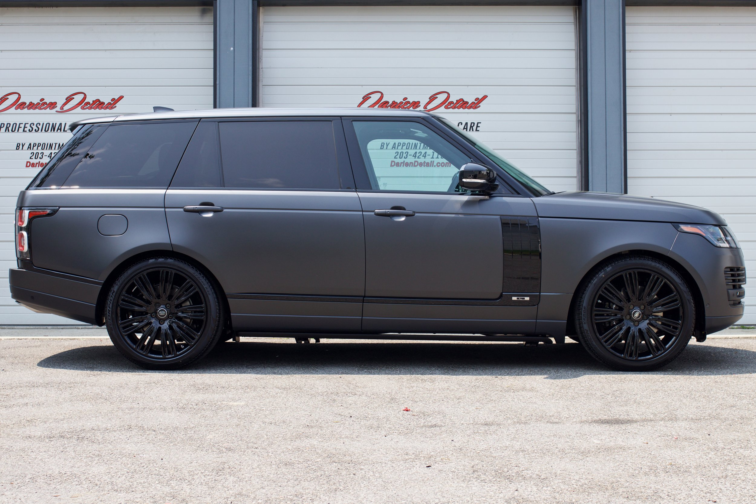 Range Rover LWB - Xpel Stealth Paint Protection Film Custom Full Body Wrap