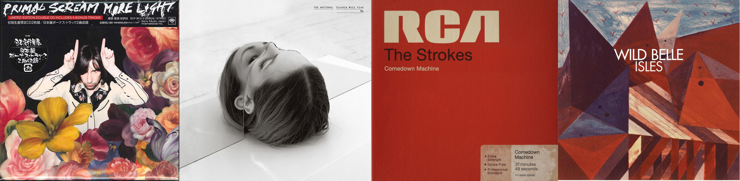 Primal Scream, the National, the Strokes, Wild Belle