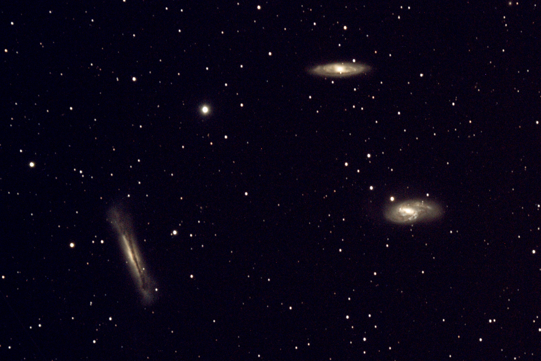 Leo Triplet Galaxies