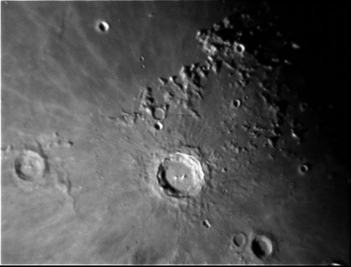 Copernicus Crateron the Moon