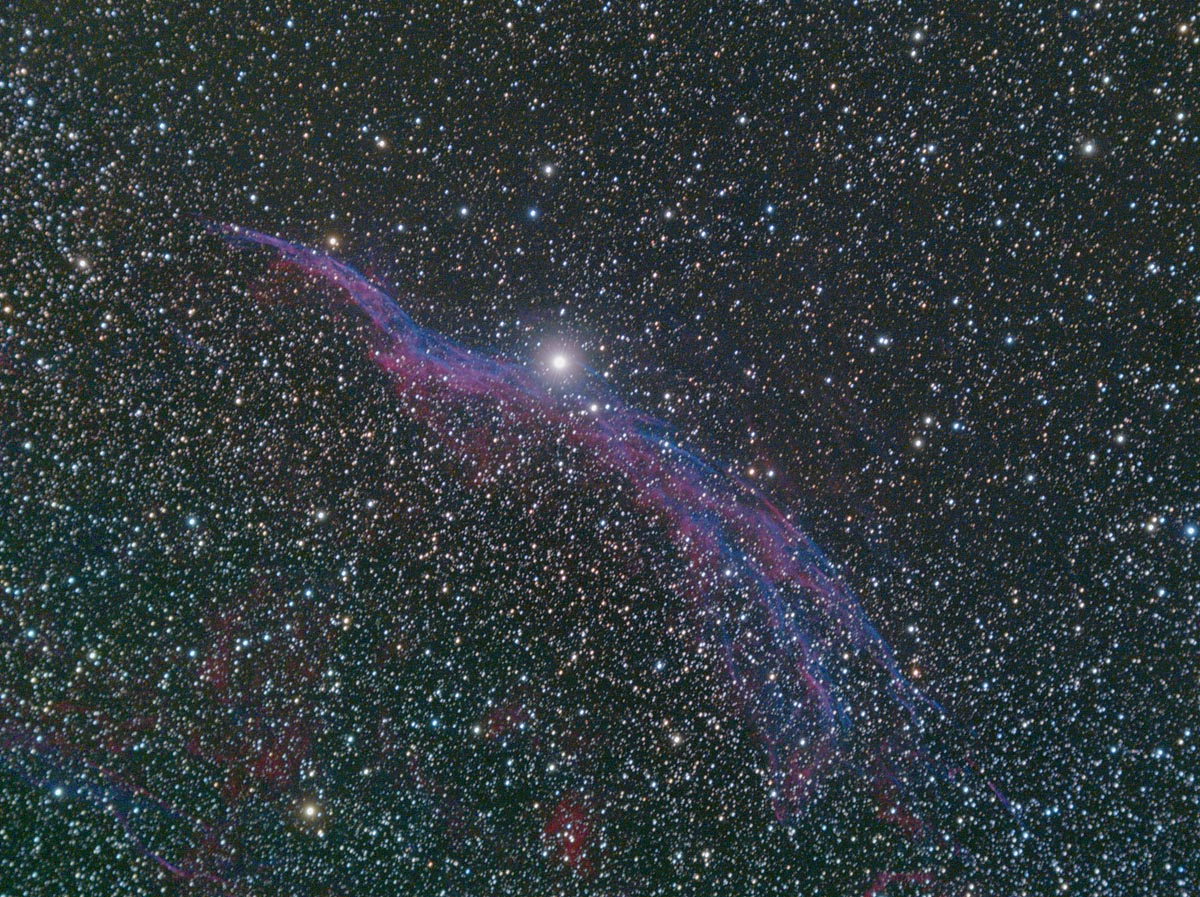 Western Veil Nebula – Witch's Broom