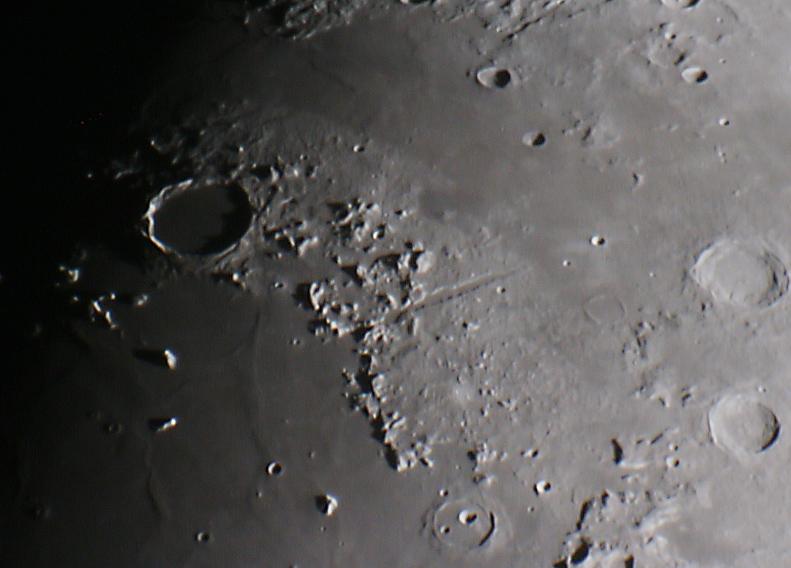 Lunar Alpine Valley