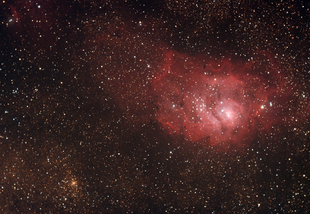 Messier 8, The Lagoon Nebula