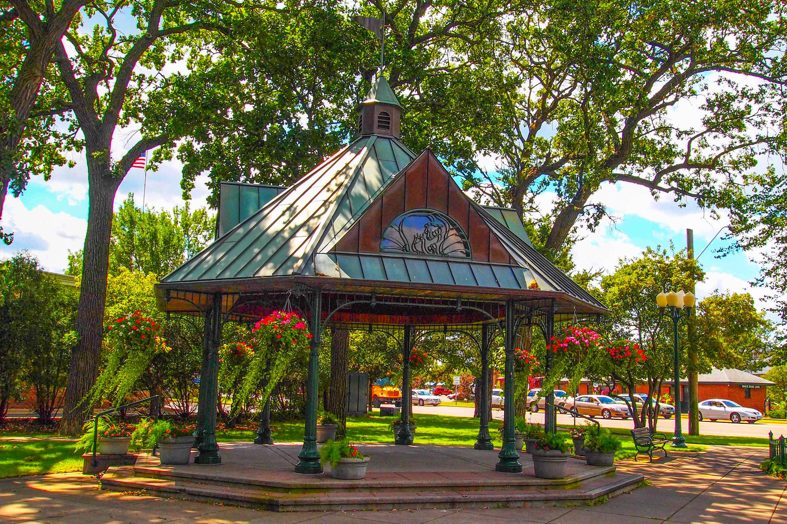 Railroad Park Gazebo