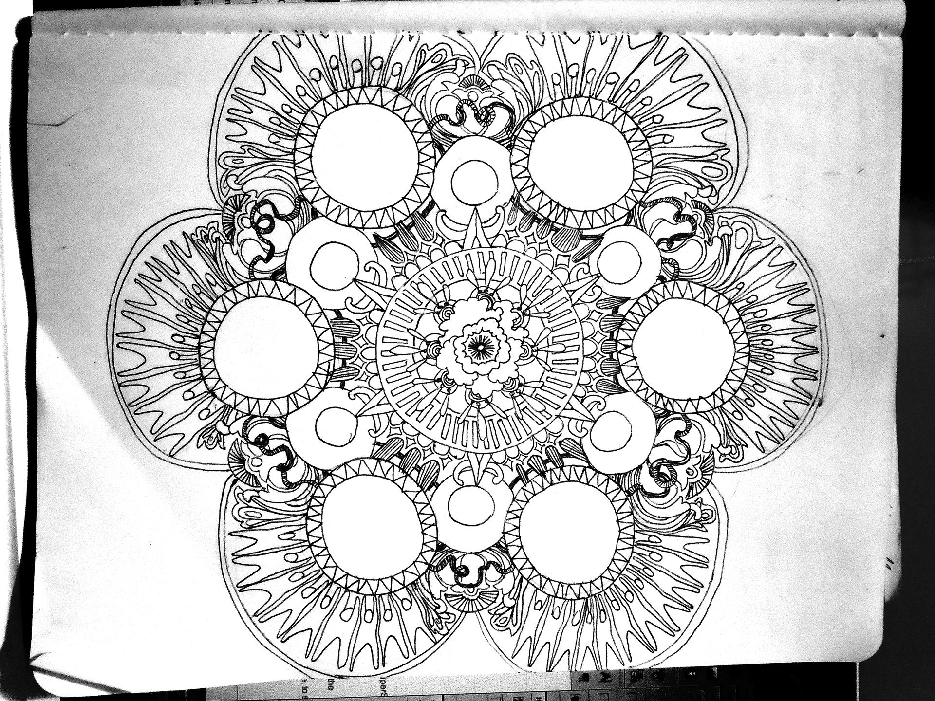 plan, line-drawing
