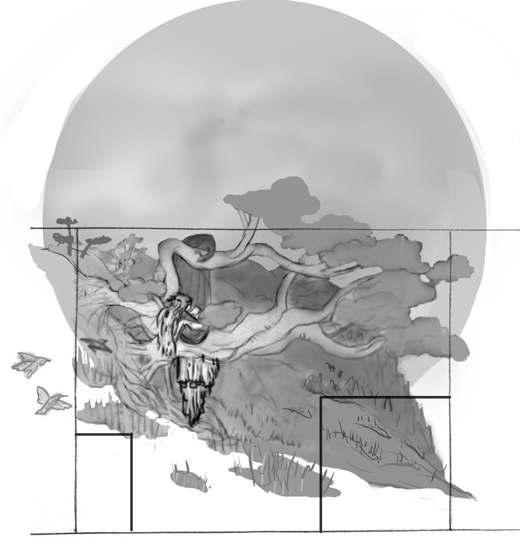 initial concept + composition