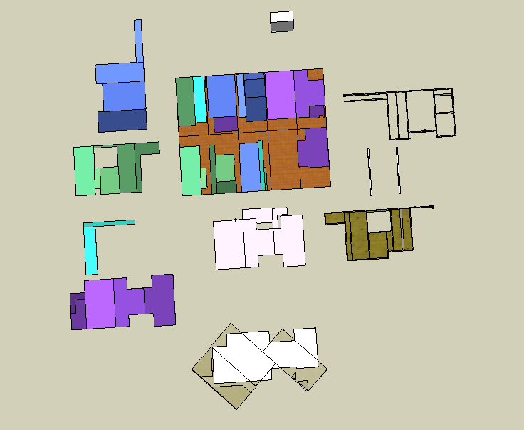 purple is the floor, the rest is walls