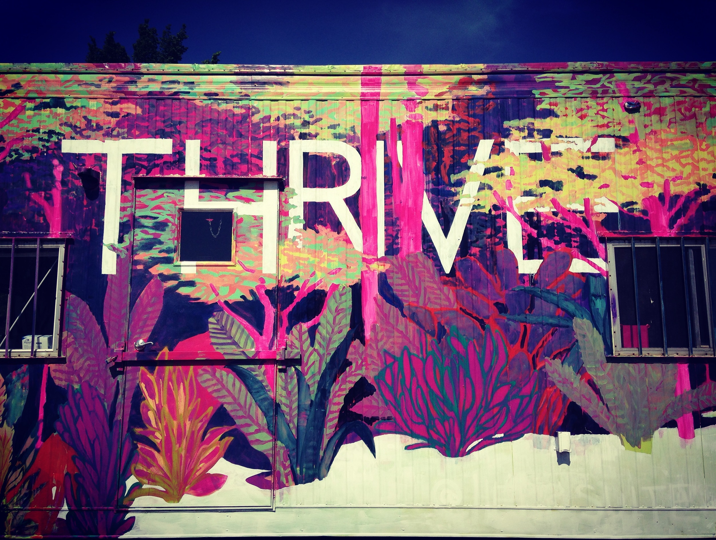 Thrive at RVA Street Art Festival