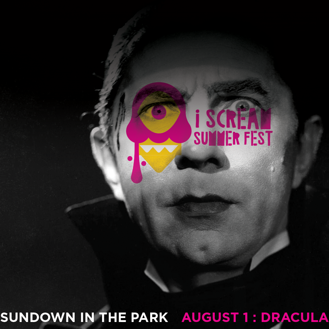I SCREAM MOVIE FESTIVAL - PRINT AD SUMMER FESTIVAL HORROR MOVIES IN THE PARK