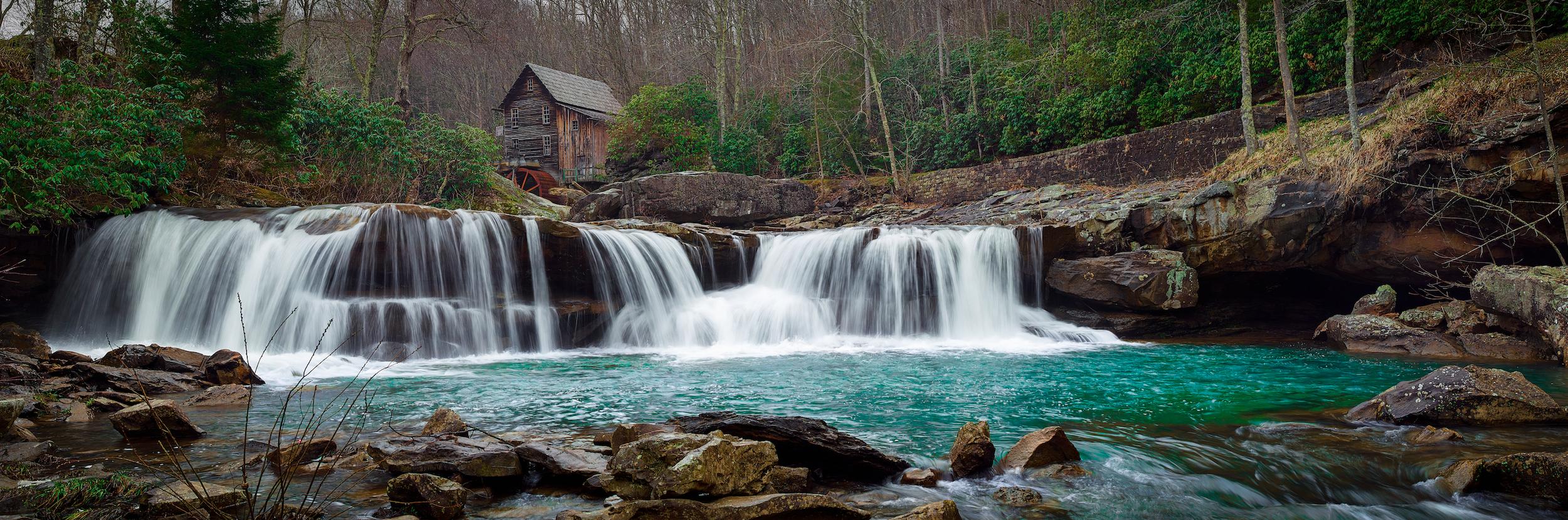 CREEK FALLS - Babcock State Park, West Virginia