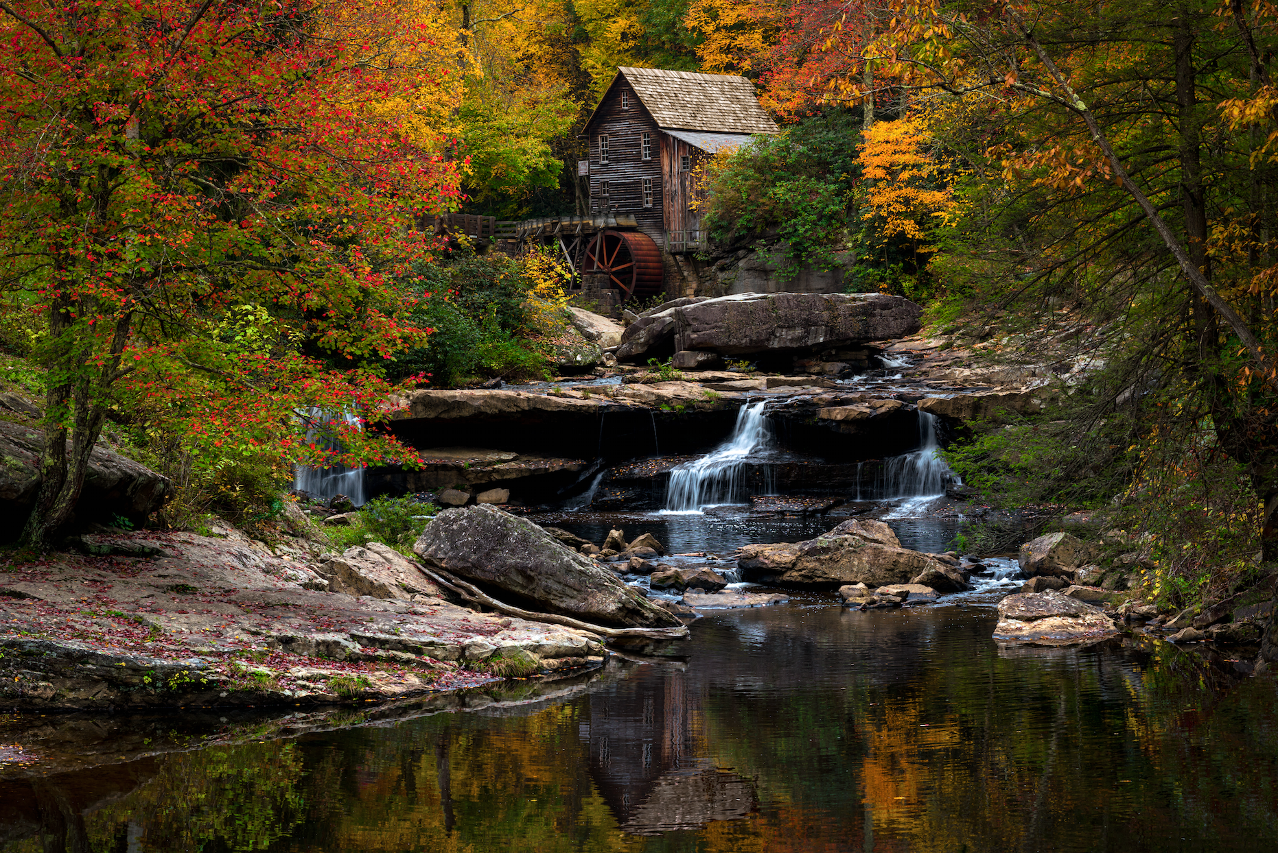 TAKE ME HOME - Babcock State Park, West Virginia