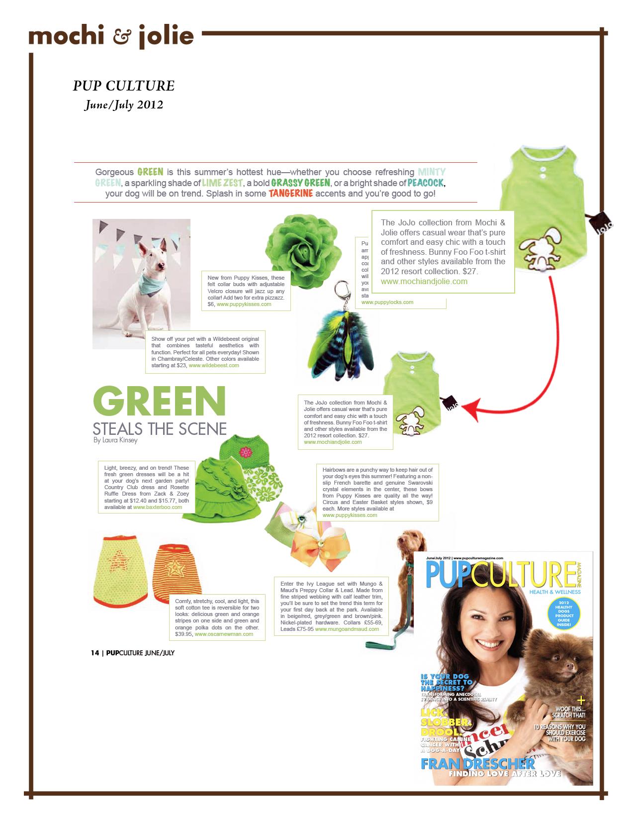 Pup Culture (June/July 2012)
