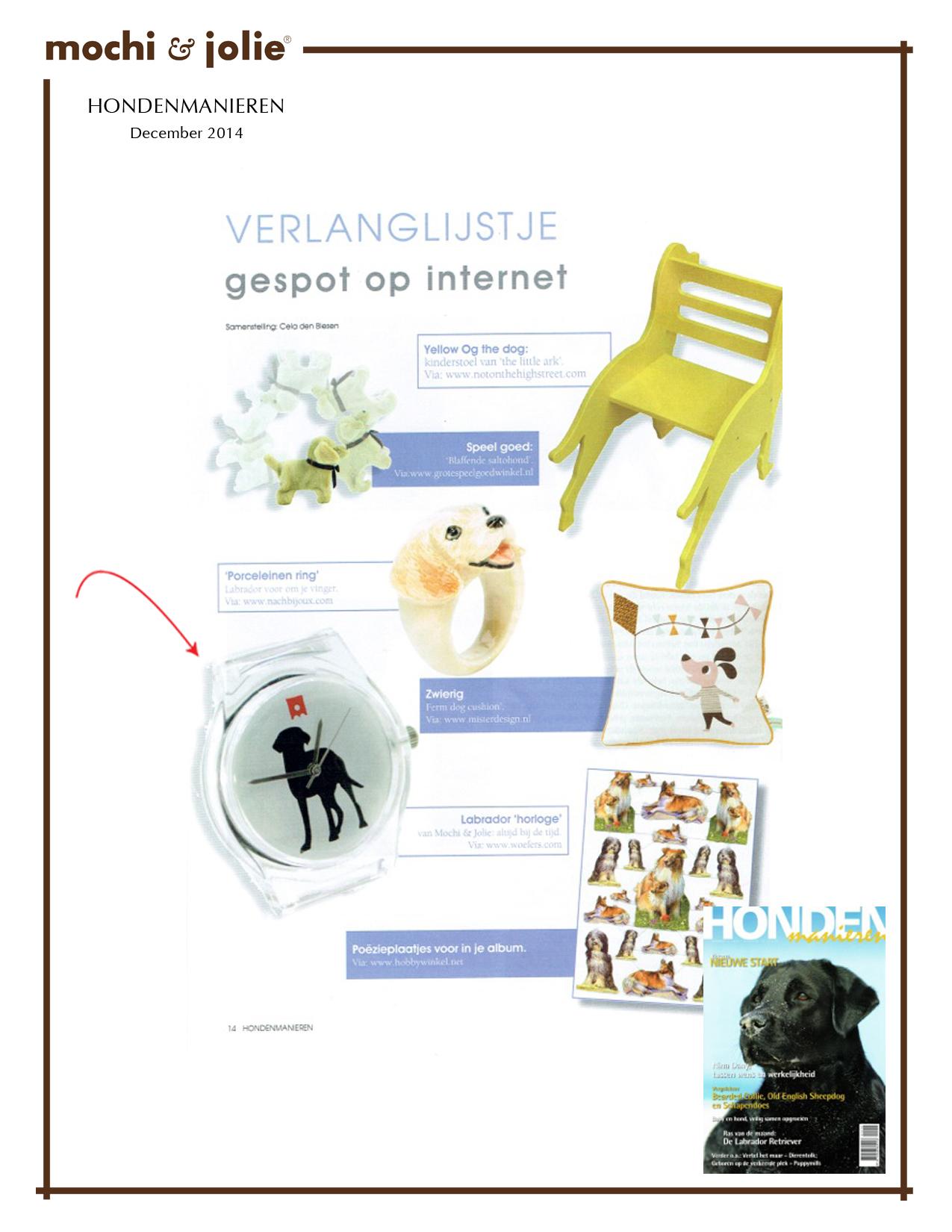 Hondenmanieren (Dutch Magazine) (December 2014)