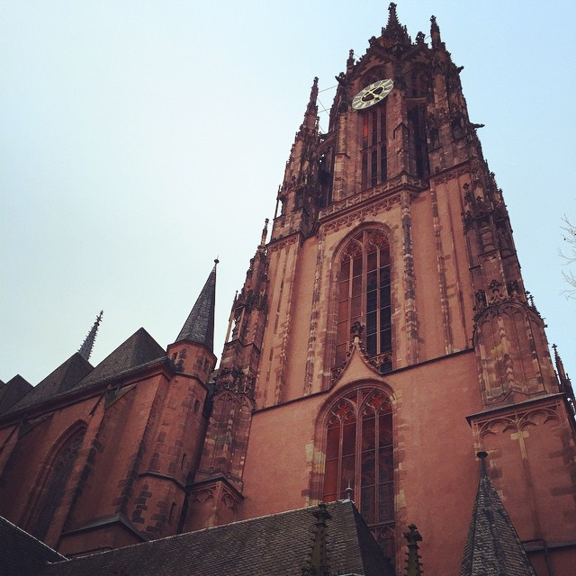 The Cathedral (Dom) - Its beginnings date back to the year 852. Ten emperors were crowned here between 1562 and 1792.