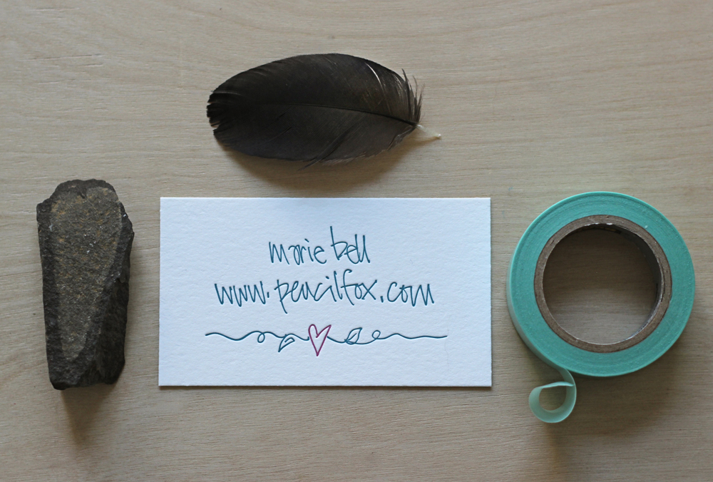 pencilfox-calling-cards