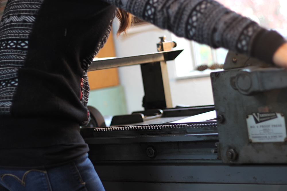 printing-on-the-vandercook