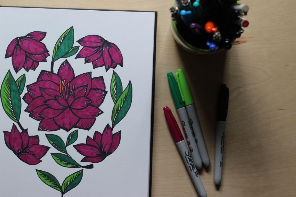 camellia-sketchbook