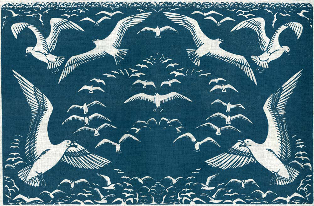 Gulls  by Lee Kingman Natti of the Folly Cove Designers