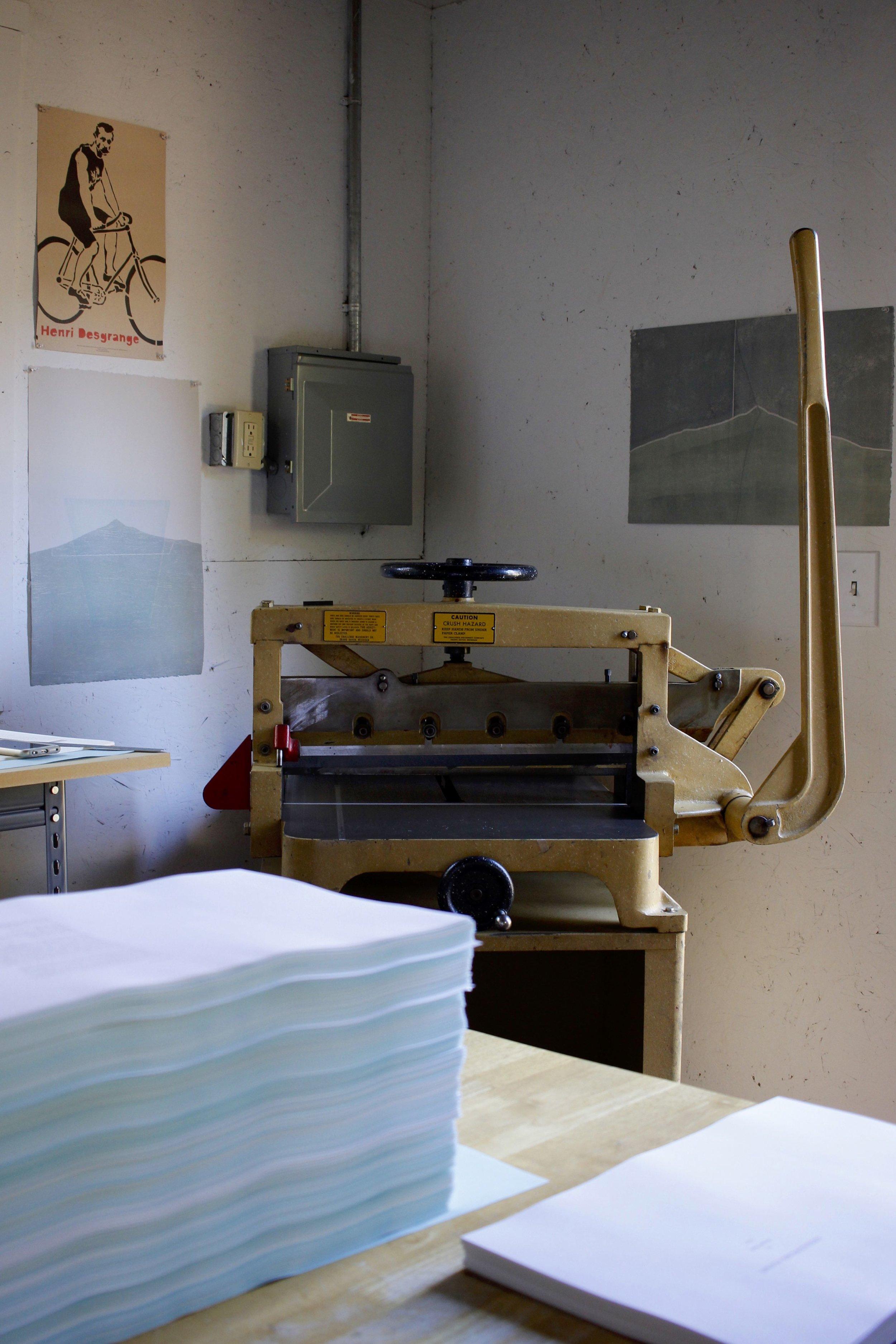 Challenge Paper Cutter