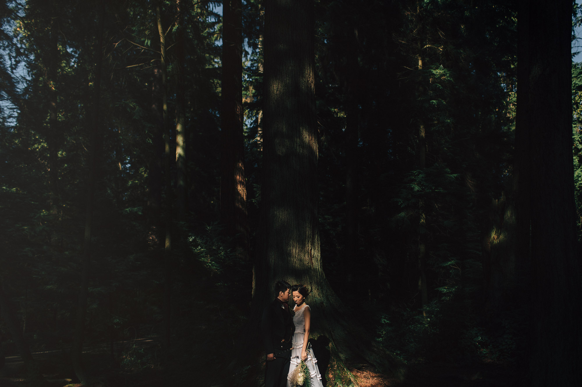 beaver lake stanley park vancouver wedding photographers noyo creative