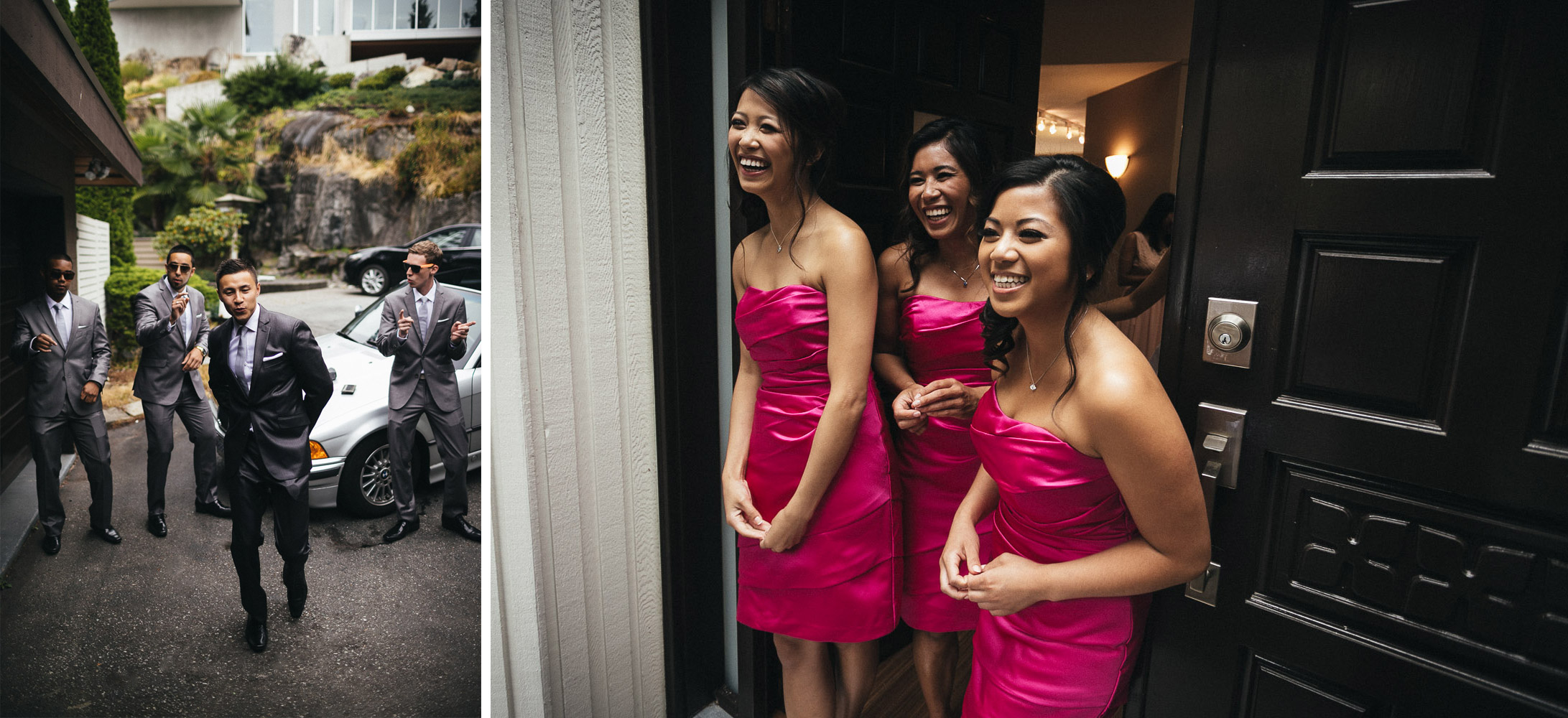 west vancouver photography wedding door games