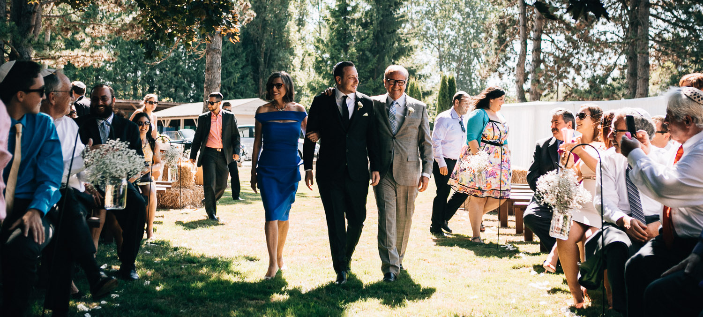 vancouver jewish bedeken ceremony wedding photography