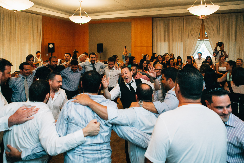 hora Schara Tzedeck vancouver jewish wedding ceremony photography