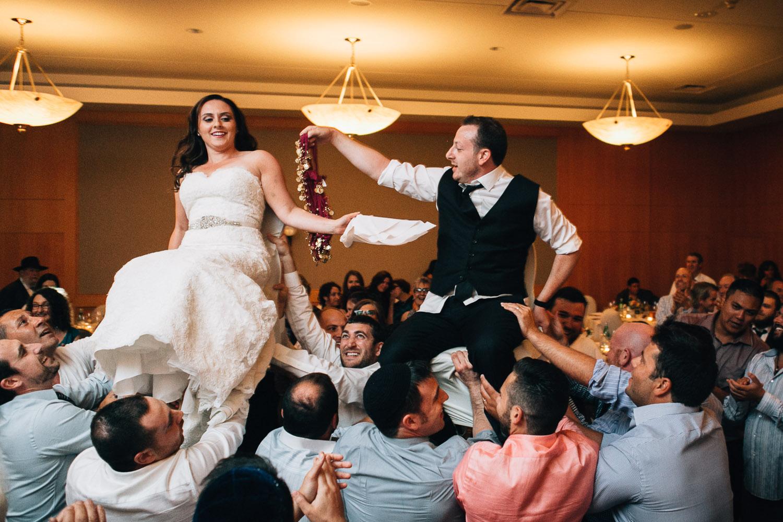 hora Schara Tzdeck vancouver jewish wedding ceremony photography
