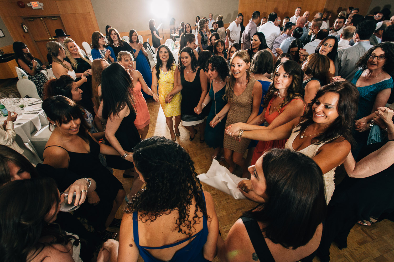 Schara Tzedeck vancouver jewish wedding dancing reception
