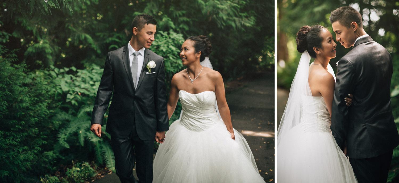 vancouver wedding photographer queen elizabeth park portrait