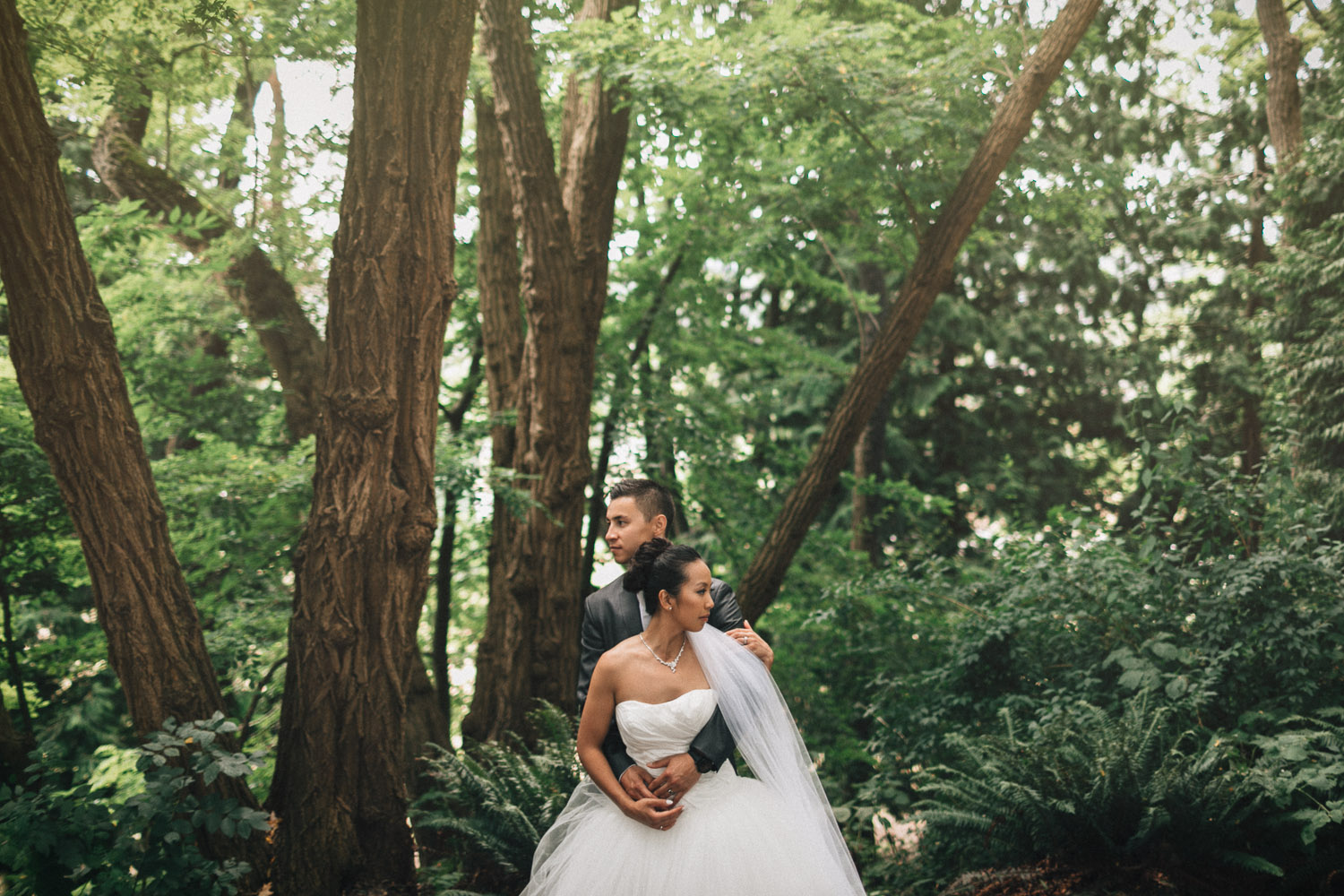 vancouver queen elizabeth park wedding portrait photographer