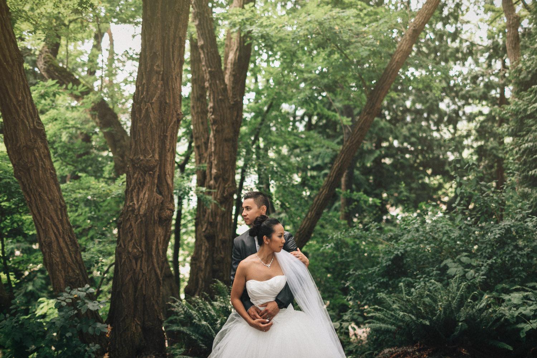 vancouver queen elizabeth park wedding portrait photographer