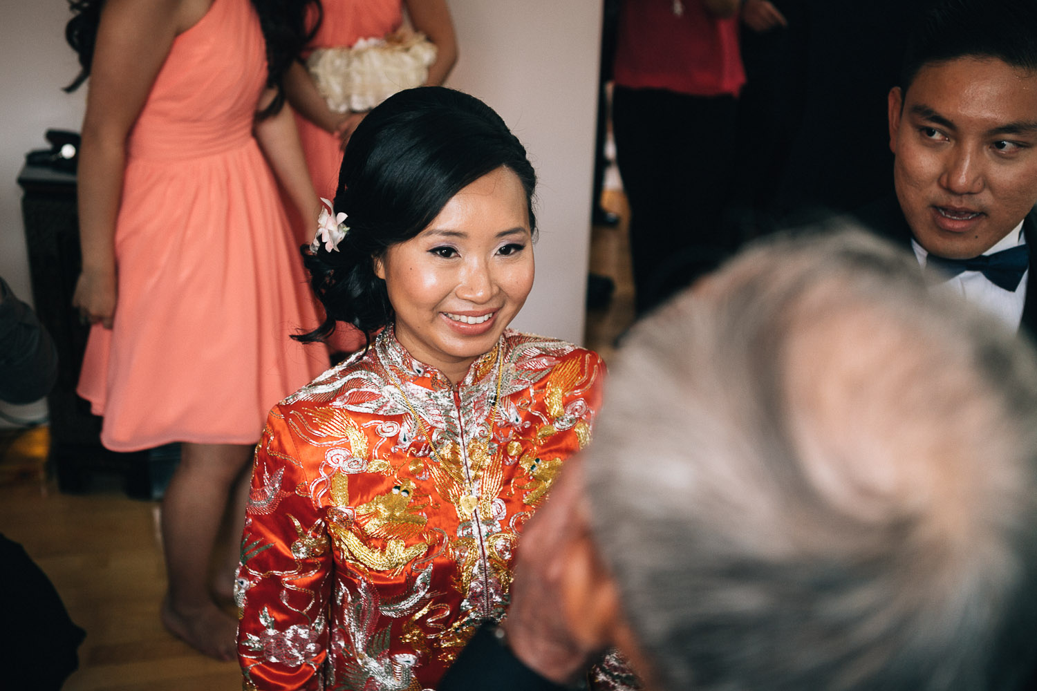 tea ceremony vancouver wedding photography