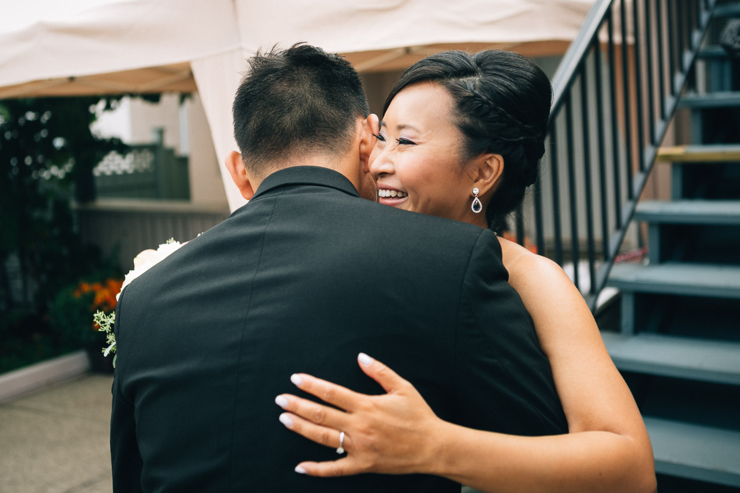 first look chinese vancouver wedding photographers