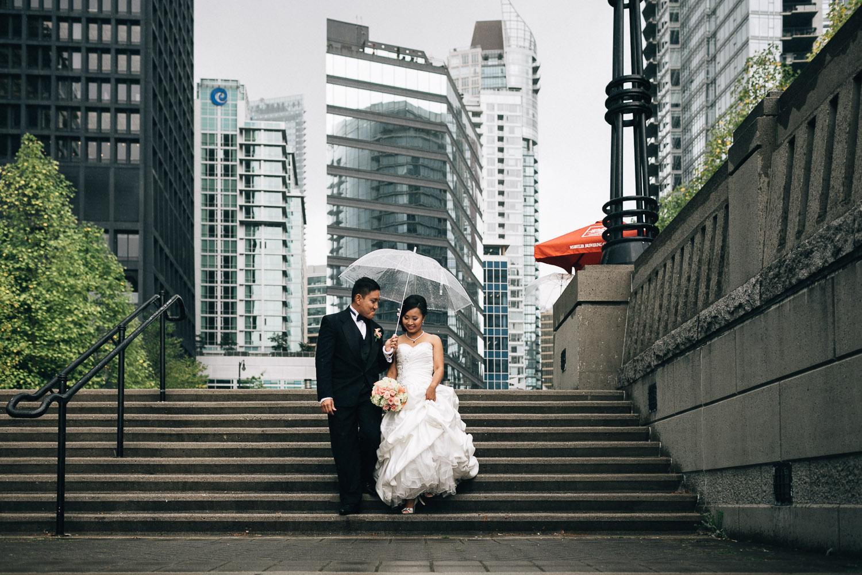 coal harbour vancouver wedding photographers