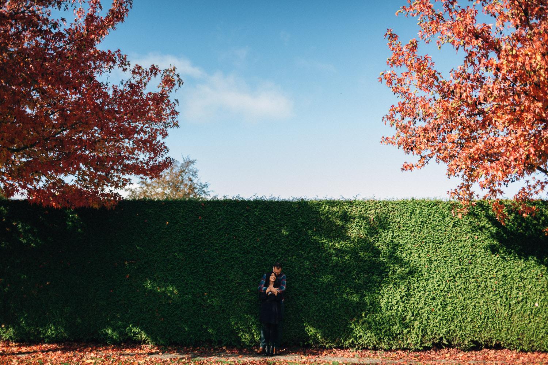 vancouver engagement photography autumn ubc portrait