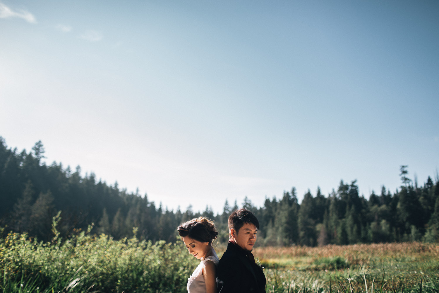 vancouver vintage wedding photography stanley park beaver lake