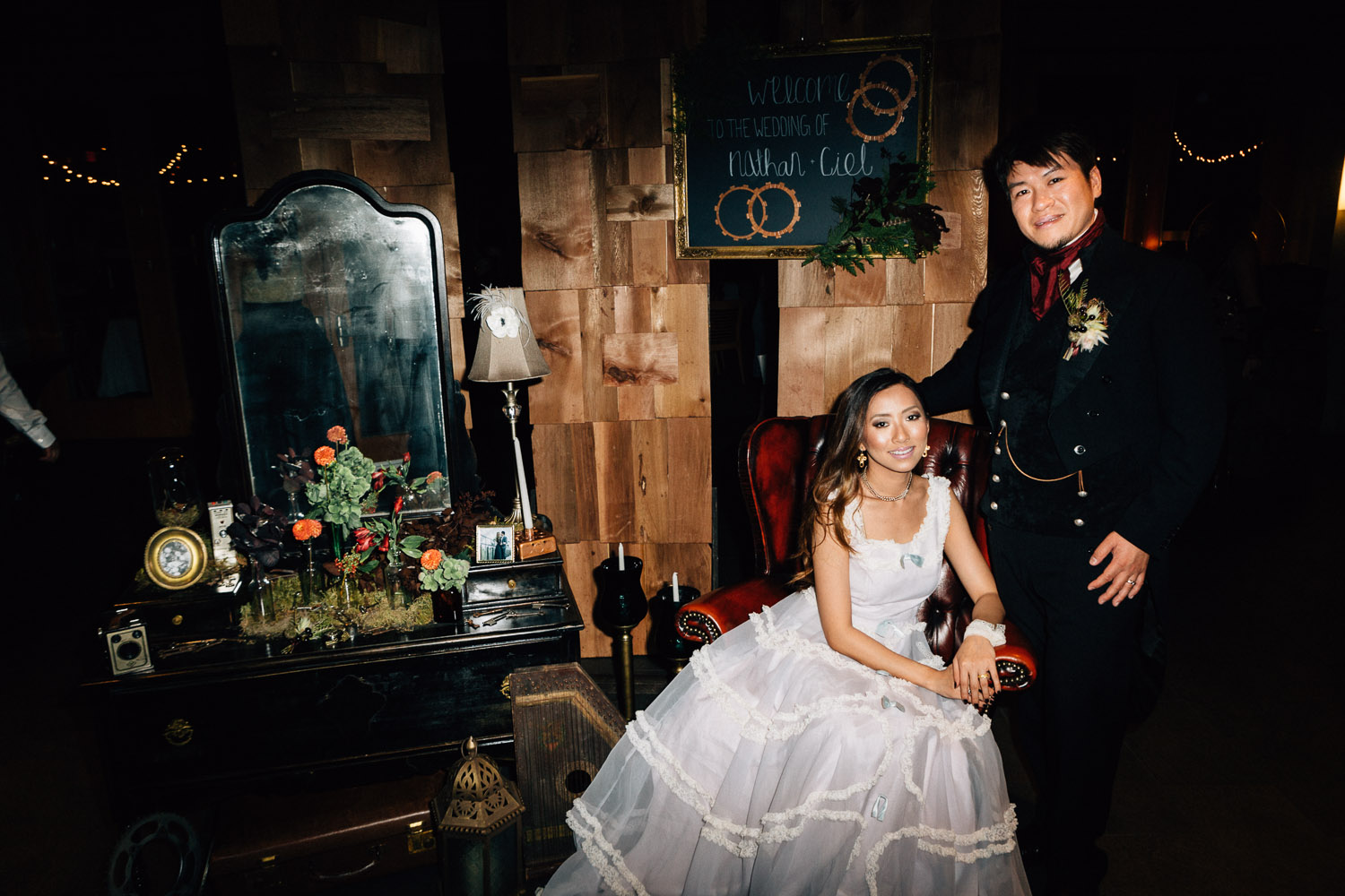 steampunk wedding vintage vancouver photography