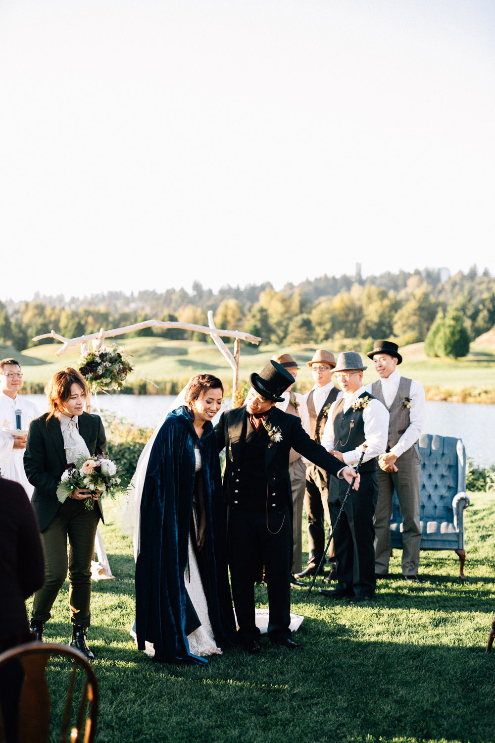 steampunk wedding vintage burnaby photography