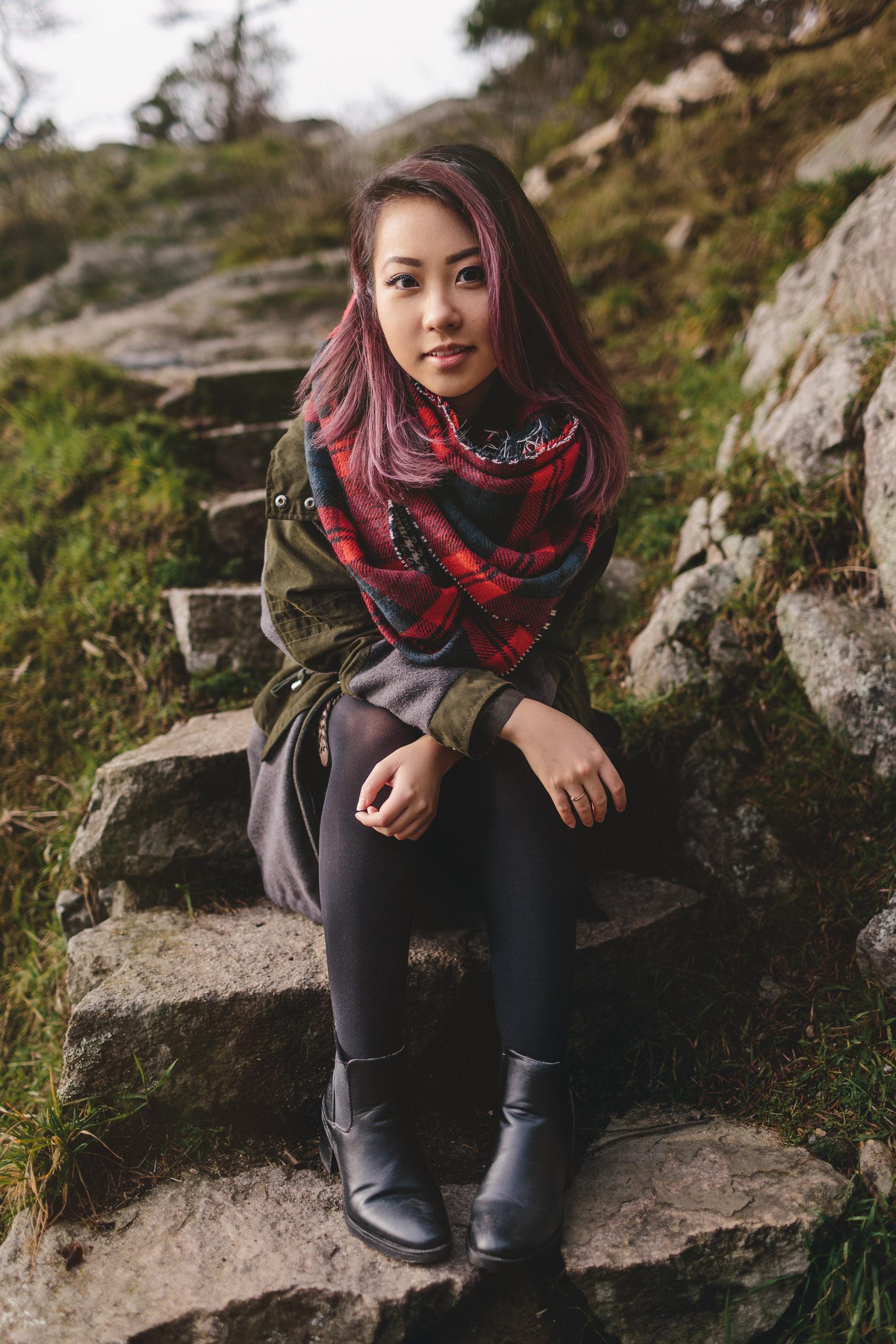vancouver portrait photographer tien nguyen at whytecliff park