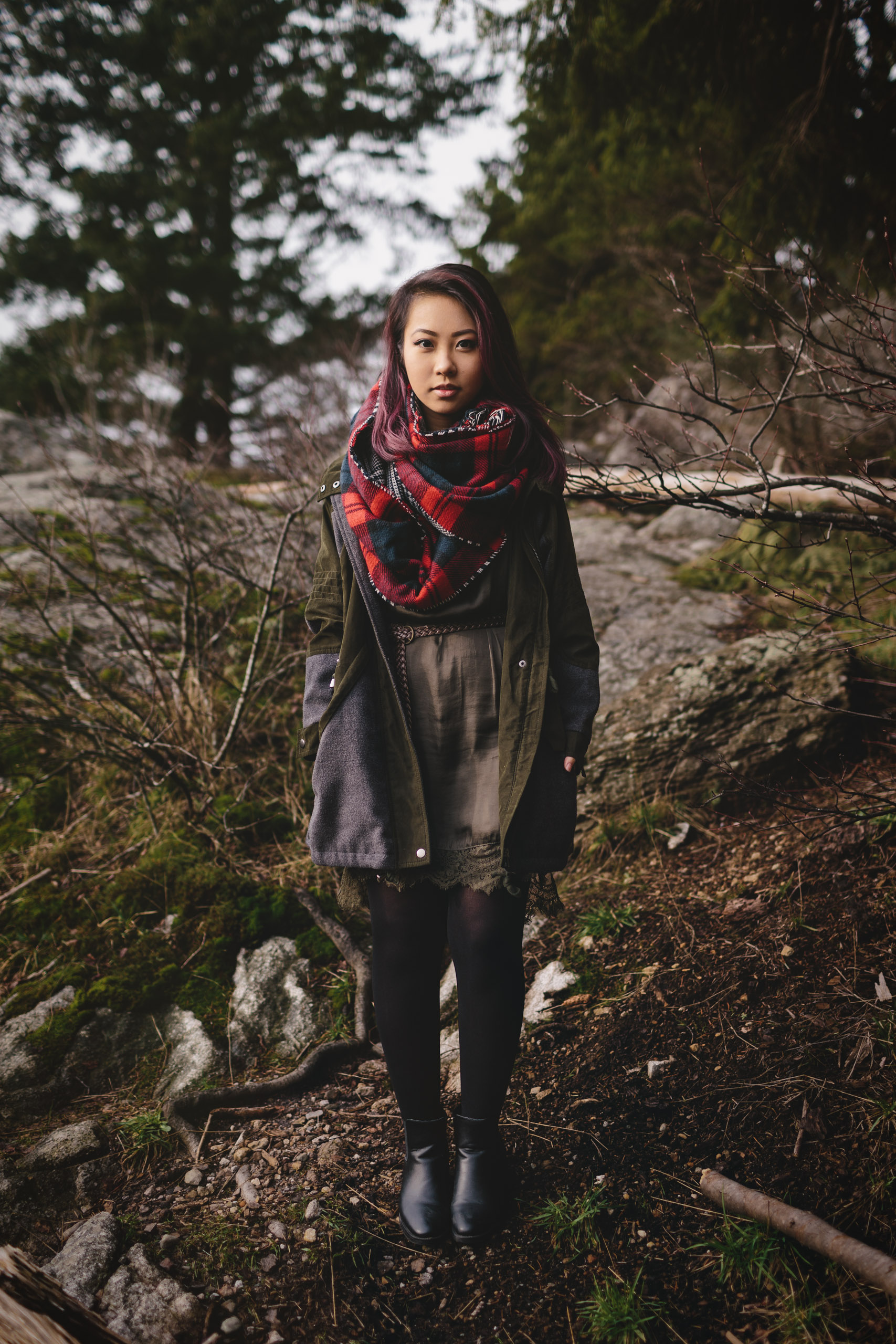 west vancouver portrait photography whytecliff park with Tien Nguyen