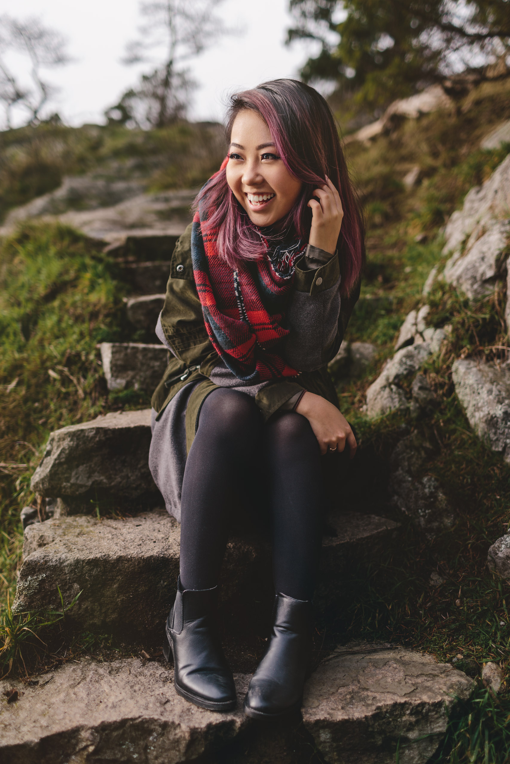 vancouver portrait photographer whytecliff park with Tien Nguyen