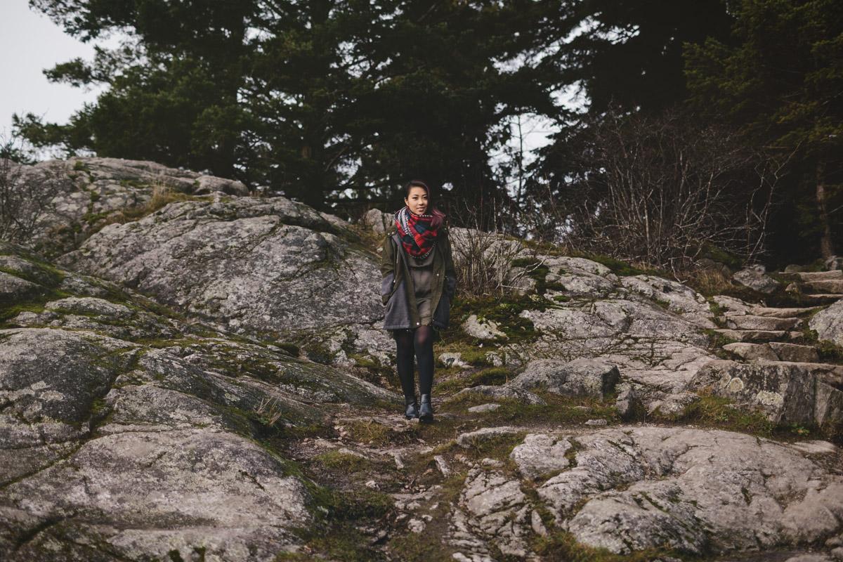 vancouver portrait photographer at whytecliff park