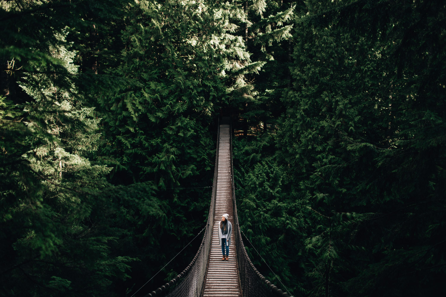 vancouver portrait photography with Sarah Lee in Lynn Canyon Park